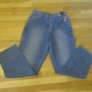 Vintage Lee Rivited Painter Pants Jeans NWT 14M